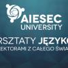Warsztaty językowe AIESEC University oferta Imprezy, wydarzenia